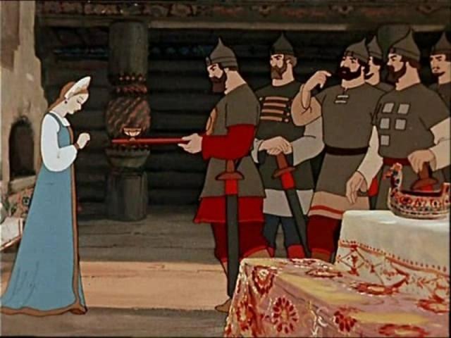 Пушкин «Сказка о мертвой царевне и о семи богатырях» читать