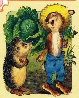 Братья Гримм «Заяц и ёж» читать онлайн