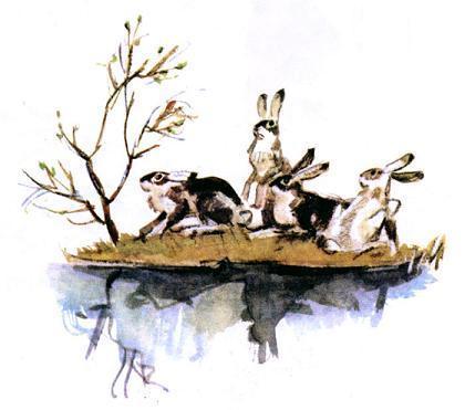 Некрасов «Дедушка Мазай и зайцы» читать полностью весь текст