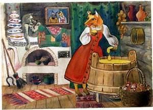 Русская народная сказка «лиса, волк и медведь» текст ...