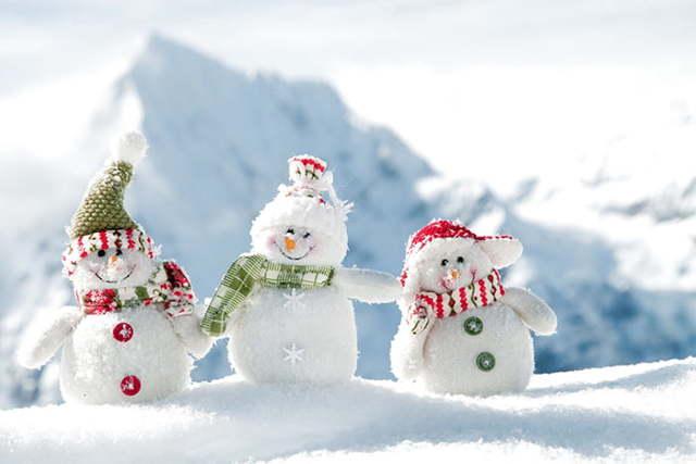 Игры зимой с детьми