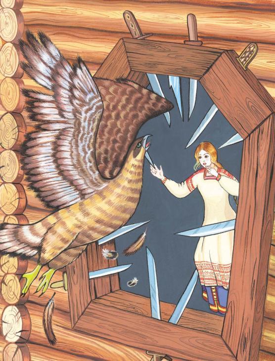 Сказка «Финист - ясный Сокол» читать текст полностью