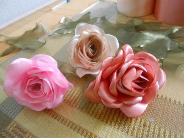 Панно из кожи: Корзина с розами. Мастер-класс