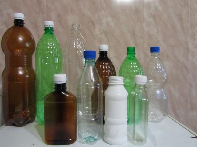 Поделки из пластиковых бутылок для детского сада