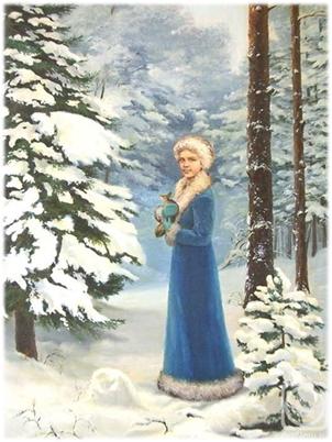 Как и когда появилась Снегурочка