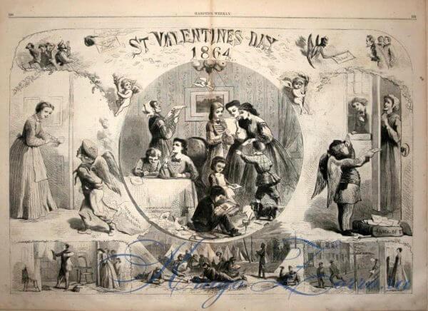 День святого Валентина. История праздника для детей