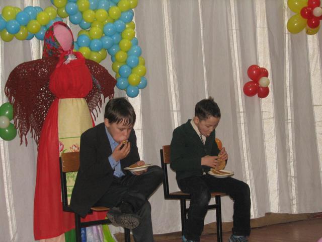 Внеклассное мероприятие на тему «Масленица» для школьников 8 класса