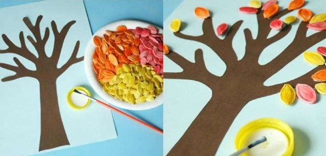 Поделка из природного материала для детского сада. Корзиночка «Дары осени» своими руками. Мастер-класс с пошаговыми фото