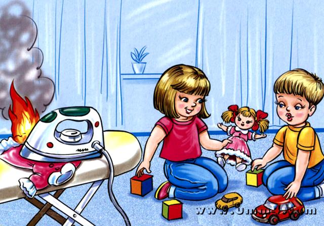 Педагогический проект в средней группе «Спички детям - не игрушки!»