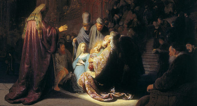 Как рассказать про Сретение Господне детям