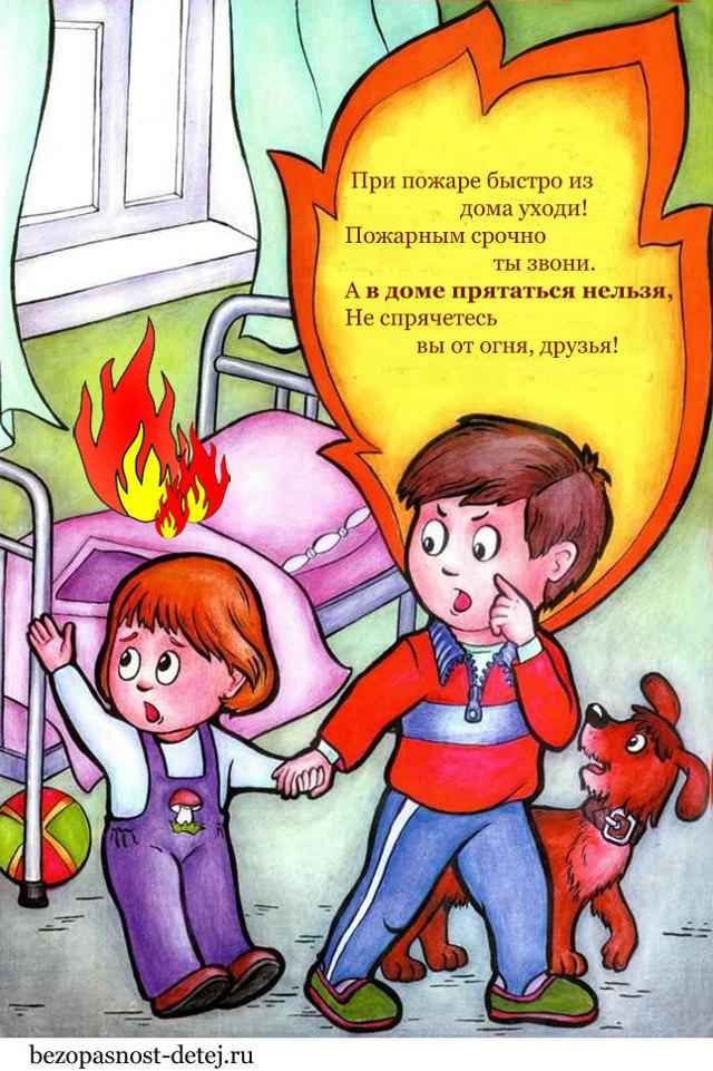 Занятие по пожарной безопасности в начальной школе