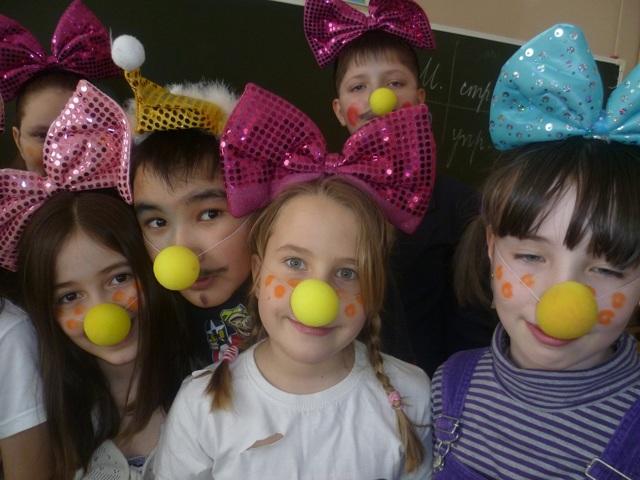 Сценарий ко Дню смеха для учащихся начальных классов