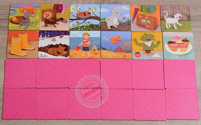 Игры на развитие памяти детей 3 лет