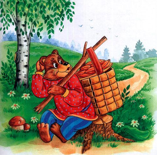 Сказка «Маша и медведь» читать текст