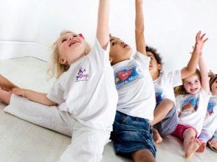 Зарядка для ребёнка 3, 4, 5 лет