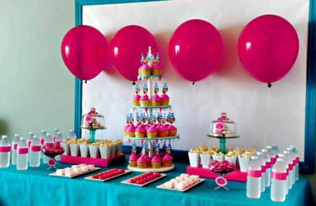 Как провести день рождения ребенку девочке 8 лет дома. Сценарий