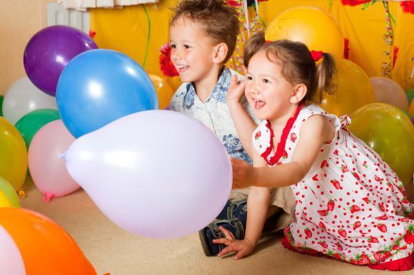 Конкурсы и игры на День рождения детям 5-10 лет