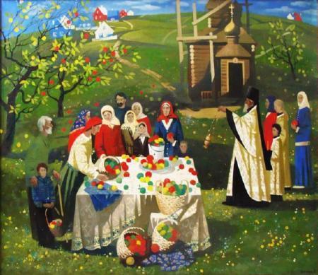 Детям о празднике яблочный спас