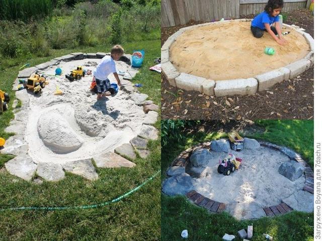 Поделки из песка в детском саду