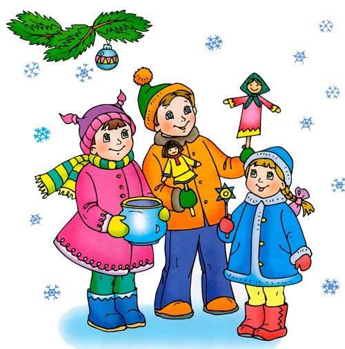 Беседа по теме Новый год с детьми 1-2 класса