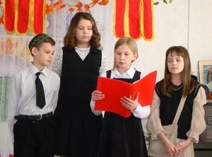 Сценарий на Пасху для школьников, 5 класс