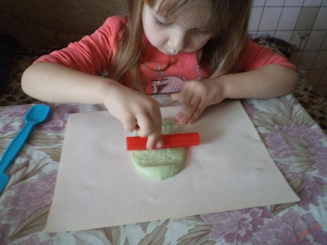Поделка из солёного теста для детей 5-6 лет