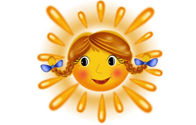 Стихи о солнце для детей 3-4-5 лет