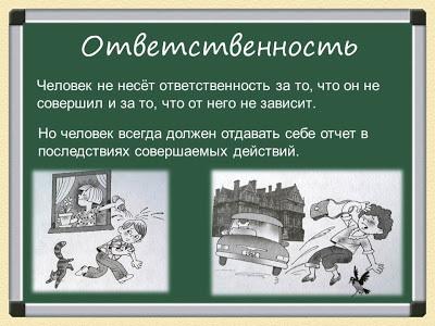 Классный час «Свобода и ответственность», 10 класс
