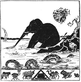 Киплинг «Слоненок» текст распечатать