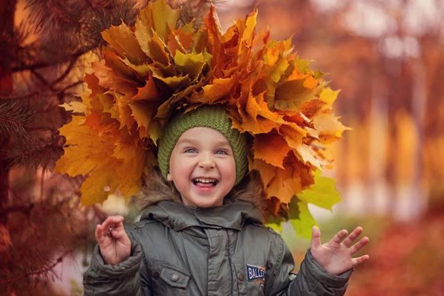 Прогулки осенью с детьми