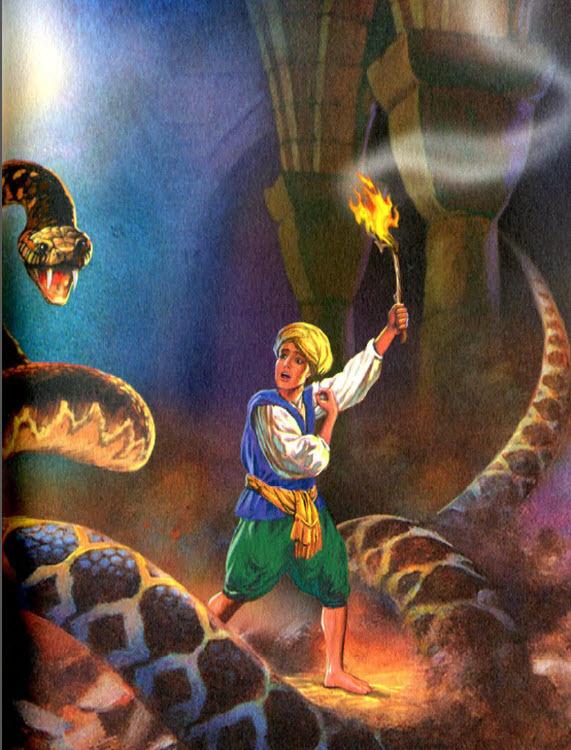 Волшебная лампа Аладдина. Читать