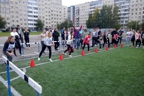 Спринт для школьников