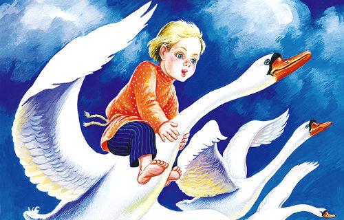 Сказка «Гуси-лебеди» читать текст