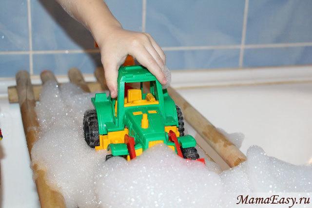 Игры в ванной для детей 2-3-4 лет
