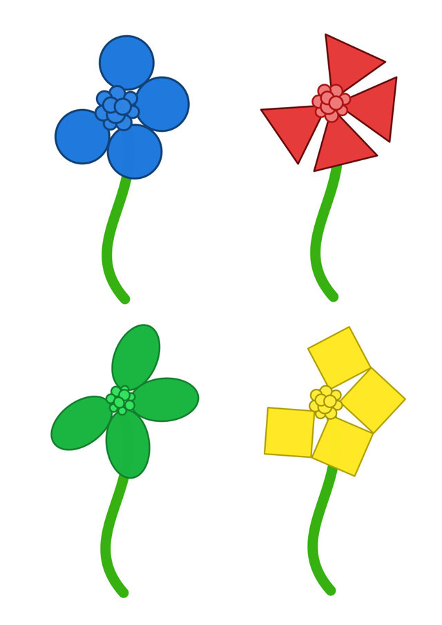 Вопросы и задания на тему «Цветы» для младших школьников 1-2 класса