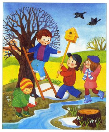 Рассказы о весне, 1 класс читать