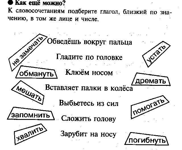 КВН по русскому языку, 4 класс
