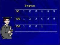 Игровая программа 7-8-9 класс. Конспект