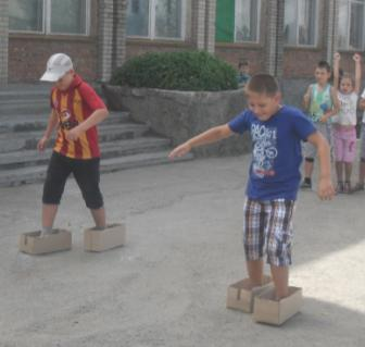 Олимпийские игры в лагере. Сценарий