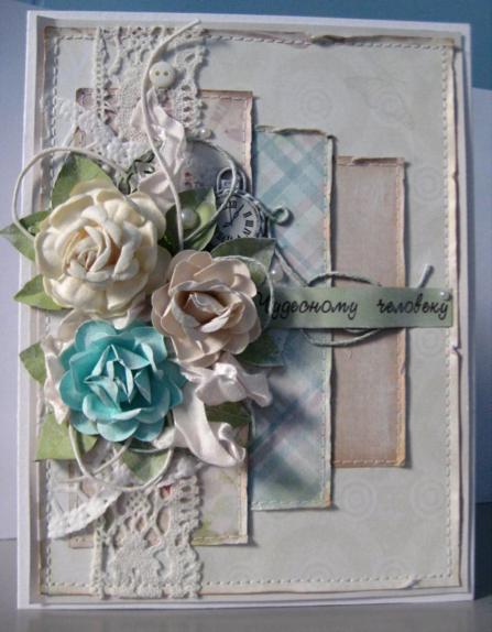 Поздравительная открытка своими руками для мамы