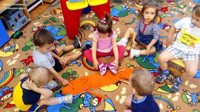 Конспект занятия в группе раннего возраста на зимнюю тему. Заяц и лиса