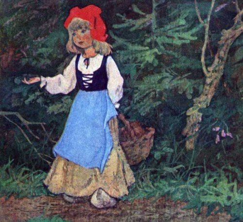 Шарль Перро «Красная Шапочка» текст сказки
