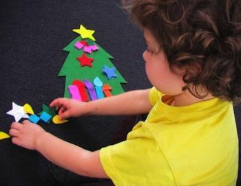 Новогодние развлечения для детей