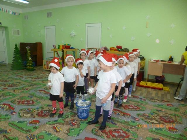 Сценарий зимнего спортивного праздника для детей средней группы
