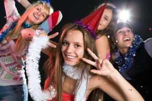 Новогодний сценарий для взрослых