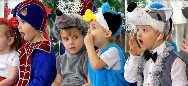 Инсценировка на Новый год для младших школьников