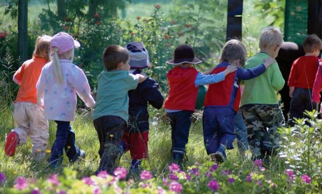 Прогулки зимой в феврале в младшей группе. Картотека с целями по ФГОС
