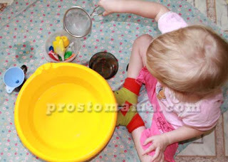 Игры с мамой на кухне