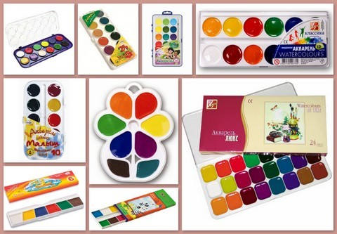 Когда стоит покупать ребенку акварельные краски